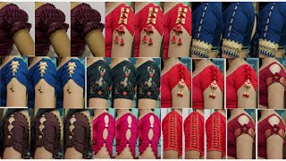 Very beautiful new letest sleeve blouse design poster video photos and images - Kriti fashion design