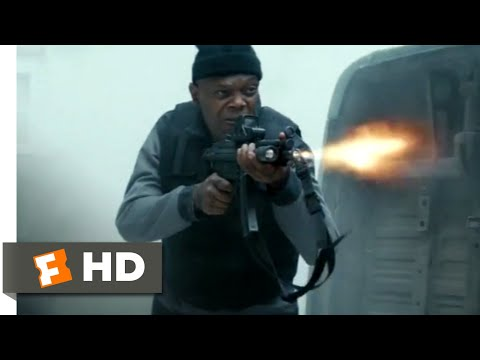 The Hitman's Bodyguard (2017) - Convoy Hijacking Scene (1/12) | Movieclips