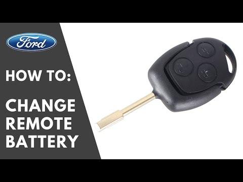 BEST : How To Change Ford Keyless Remote Key Battery - Focus Ka Kuga Mondeo Fiesta