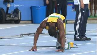 World Record 4x100 metres relay, Jamaica, 37.04 sec, Daegu, IAAF WC 2011, final round