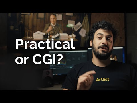 How to combine practical effects with CGI in your film | Artlist BTS
