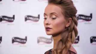 Cinecitta Make Up - Майстер клас Оксани Столярової(Форум моди та краси 2015. Майстер клас Оксани Столярової із використанням косметики
