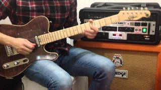 DONT GET ME WRONG PRETENDER GUITAR COVER ANDY30