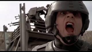 Бой в пустыне. Звездный десант. 1998. HD