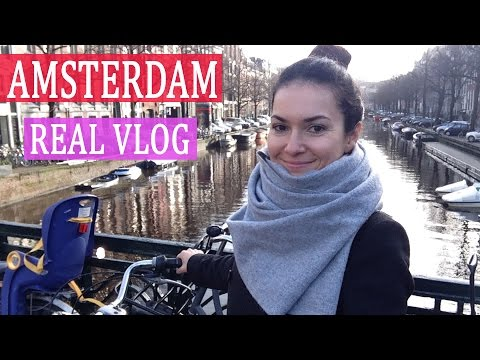 Один день со мной в AMSTERDAMе!