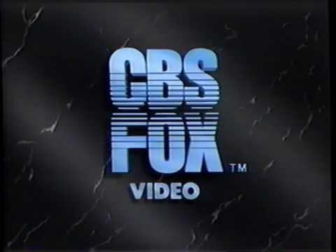 Cbs Fox Video 1990 Company Logo 2 Vhs Capture Youtube