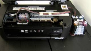 Ciss continuous ink System for Epson WF-2010