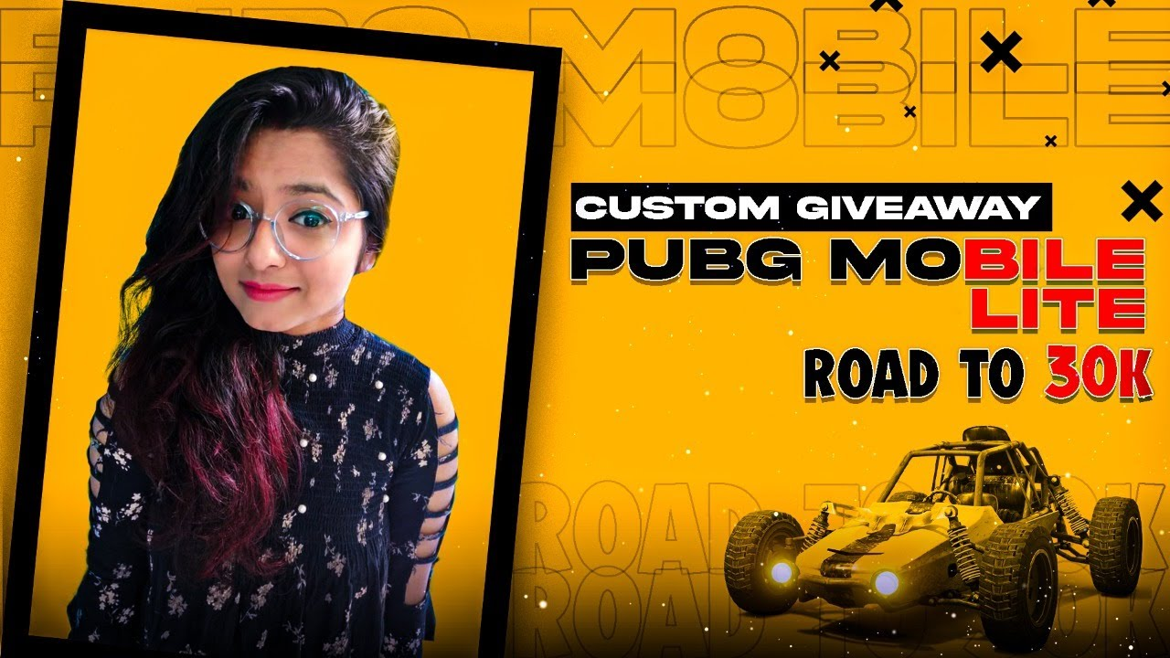 Download 🔴PUBG MOBILE LITE LIVE |  TEAMCODE ONLY | 200 RS. GIVEAWAY AT 29K | BOOMBAAM CUSTOM ROOMS 😍
