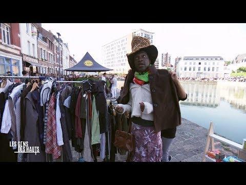 Moules, chineurs et fous rires ... C'est Kamini à la Braderie de Lille - - France 3 Hauts-de-France