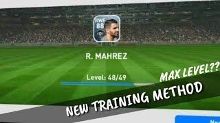 NEW TRAINING METHOD To Max Players Level | PES 2019 Mobile