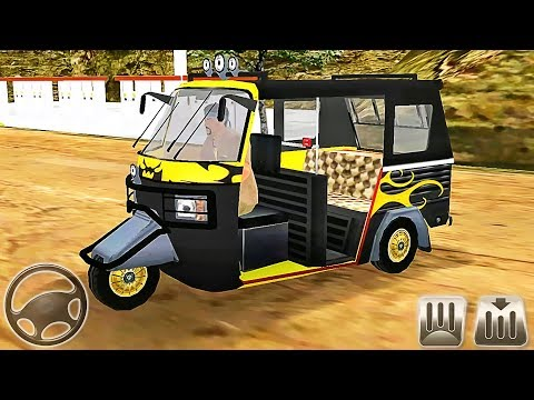 Offroad Tourist Tuk Tuk - Auto Rickshaw Racing Taxi - Android GamePlay