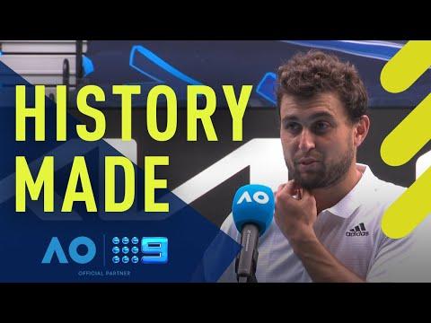 Aslan Karatsev left stunned - Australian Open | Wide World of Sports