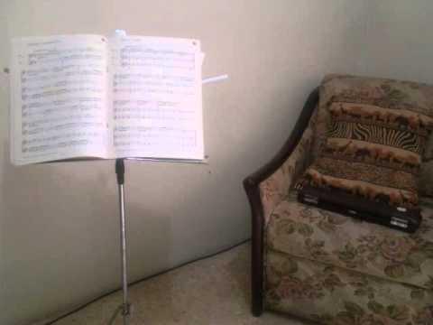 Cornel Simanjuntak - Bungaku (Flute - Piano)