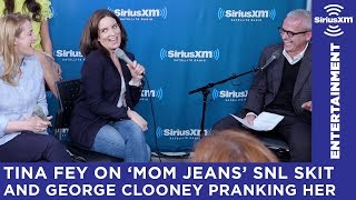 Tina Fey tells stories behind 'Mom Jeans' SNL skit & George Clooney pranks