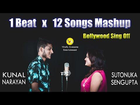 1 Beat X 12 Songs | Sutonuka Sengupta & Kunal Narayan | Bollywood Mashup | 2019