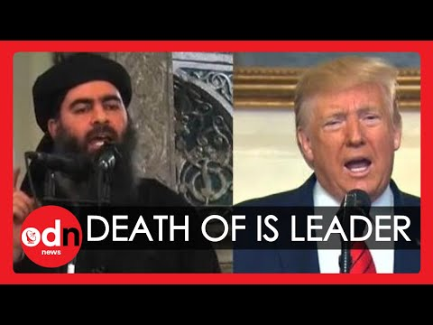 Donald Trump: Isis Leader Died 'Whimpering, Crying and Screaming'
