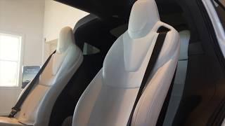 2019 #Tesla Model X P100D full exterior and interior view