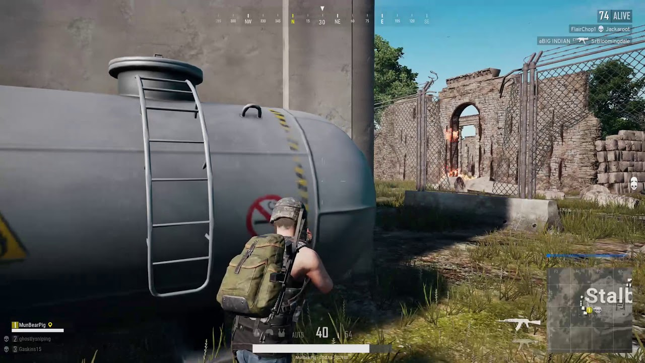Pubg Gameplay: Tactical Open Fire Gameplay (Xbox One) 2018 - YouTube