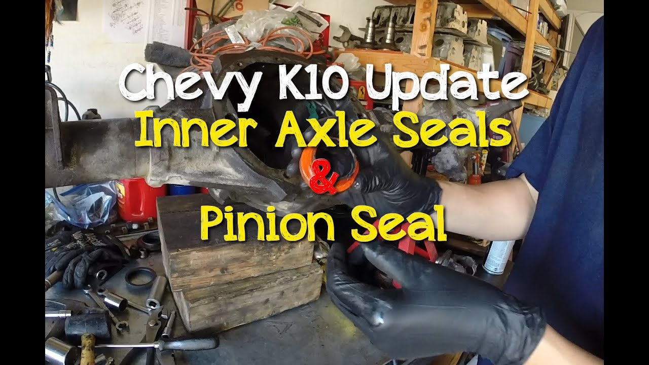 Chevrolet Truck Front Pinion Seal Leak : Chevy k bolt inner axle seals pinion seal