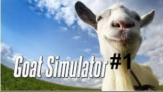 Goat Simulator- The Crane-Blowing up- Im a Ghost???