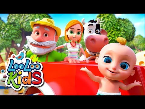 The Farmer in the Dell - THE BEST Songs for Children | LooLoo Kids