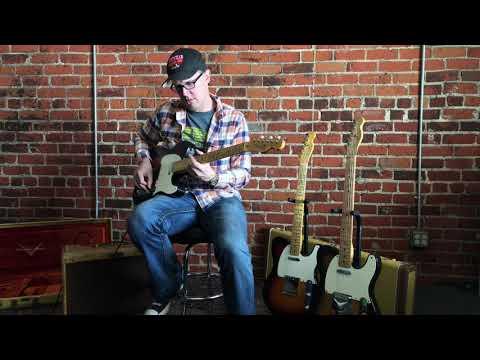 Joe Bomassa Plays the Fender Custom Shop Vintage Collector Series 1955 Relic Telecaster