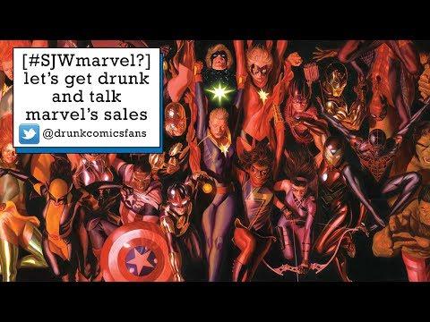 [#SJWmarvel?] let's get drunk and talk marvel's sales slump