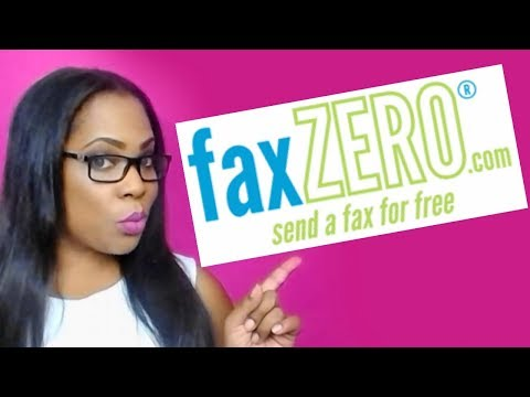 FaxZero Review   How To Send Faxes For Free Using Online Fax Software
