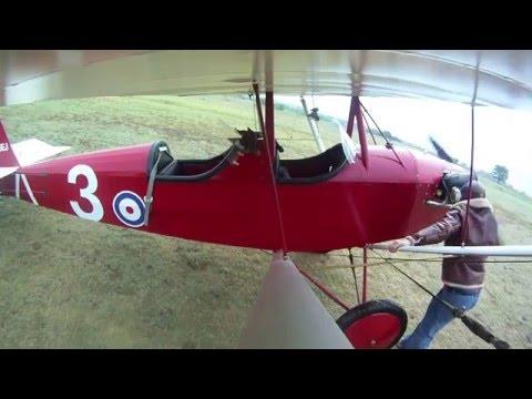 Flying a Pietenpol