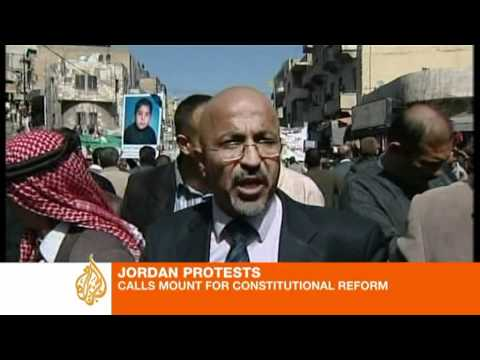 Jordan protesters hold strong