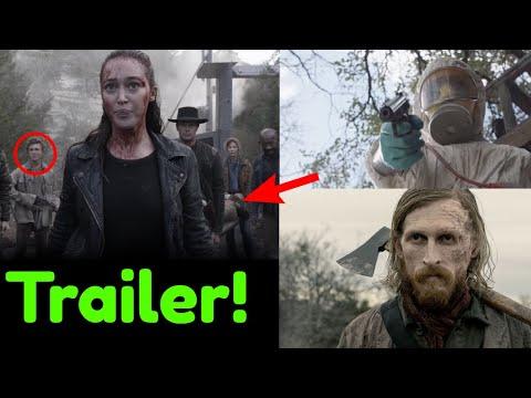 Fear the Walking Dead Season 5 FULL TRAILER BREAKDOWN! Dwight, Planes, Radiation Walkers & More!