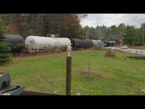 Saratoga North Creek Railroad first round of tanker cars to be stored at Boreas River