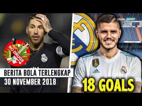 Sergio Ramos Pakai Doping ⚽️ Mauro Icardi Ke Real Madrid ? (Berita Bola Terlengkap)