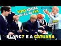 KPOP IDOL É MENTIROSO? feat BLANC7 | LIAR GAME with KPOP IDOL BLANC7