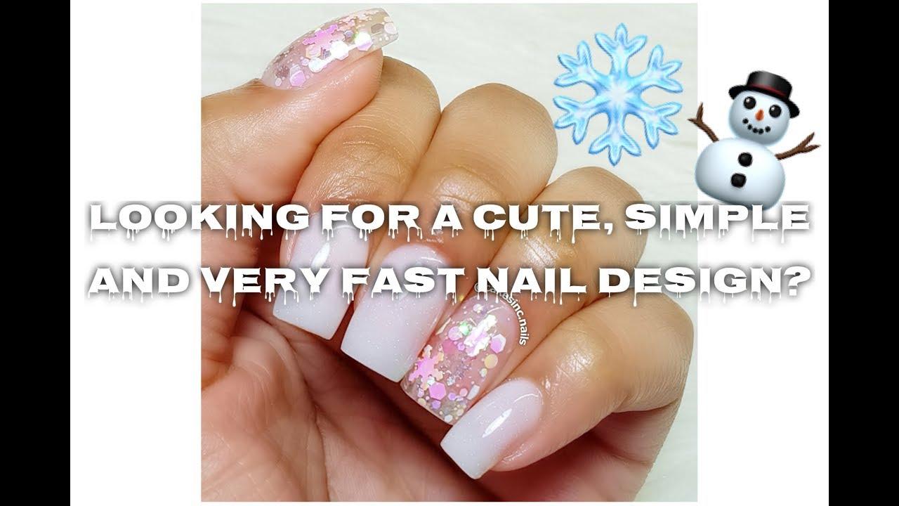 Cute Christmas Nails.How To Cute Christmas Nail Design Cakesinc Nails