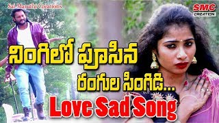Ningilo Pusina Rangula Singidi Video Song || New Love Songs || Telugu Love failure Songs