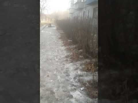 Суровый город Троицк . Челябинская область
