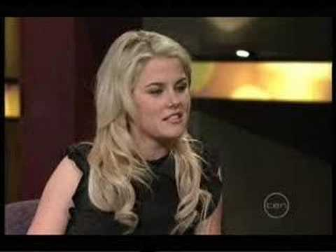 Rachael Taylor interview on Rove