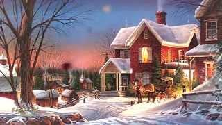 WINTER Fairy Tale ● ЗИМНЯЯ сказка ● Yann Tiersen - WALTZ of Amelie ● Terry Redlin