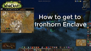 World of Warcraft: How to get to Ironhorn Enclave