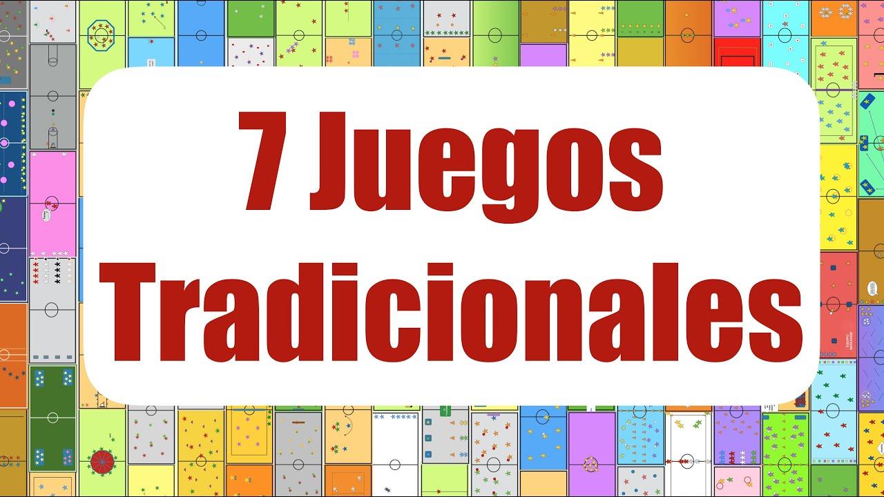 7 Juegos Tradicionales Juegos Educación Física Youtube