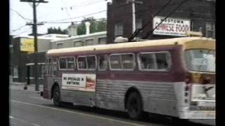 Toronto Trolleybuses in June 1991