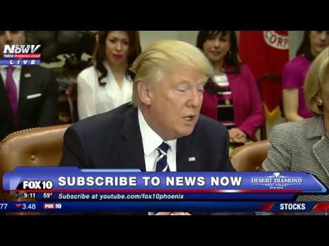 WATCH: President Donald Trump With Betsy DeVos And Educators From Across The Country