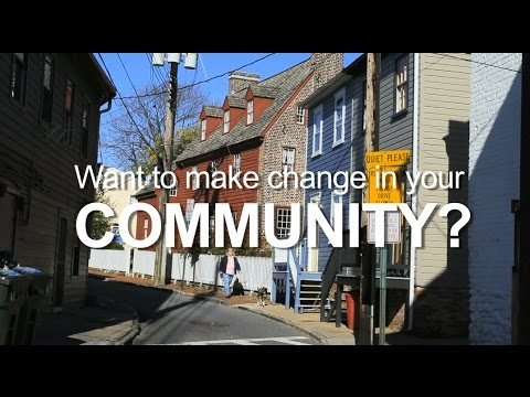 Want to Make Change in Your Community? Long Version
