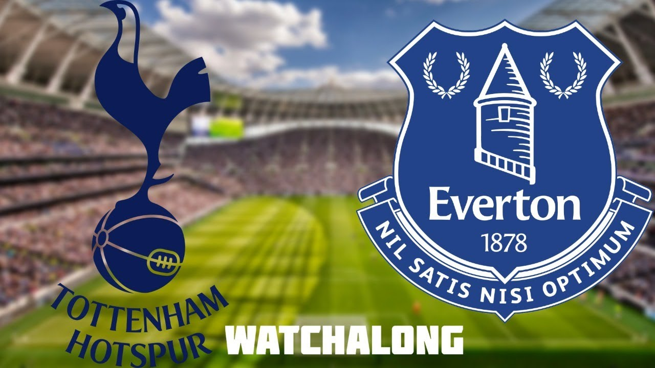 1-0 Tottenham vs Everton Live Stream Football Watchalong Premier League live Spurs vs Everton live