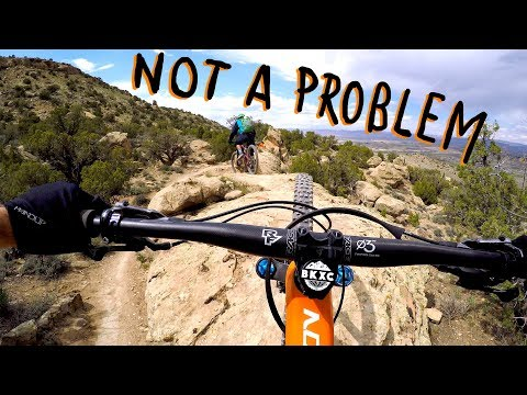 I LOVE THESE TOUGH CLIMBS | Mountain Biking Fruita with Chasing Epic