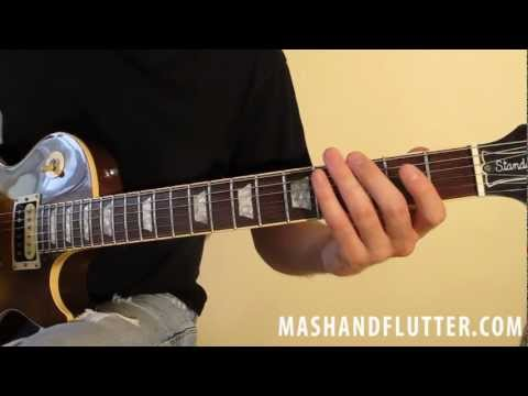 Mash and Flutter: How to Play Mr. Brownstone by Guns N