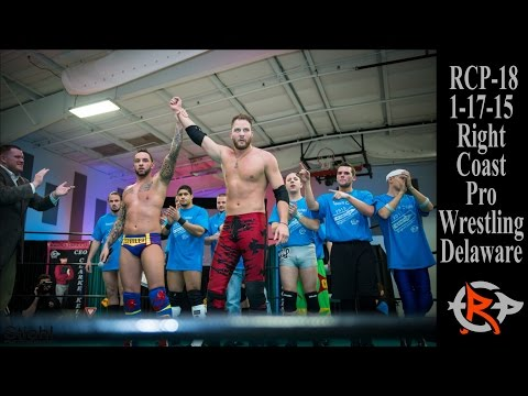 RCP18 RightCoastPro Wrestling Entertainment Event Delaware Re-Direction Highlights