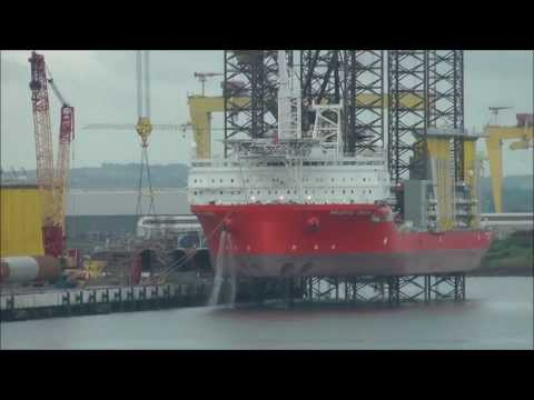 Offshore wind turbine pre-assembly harbour
