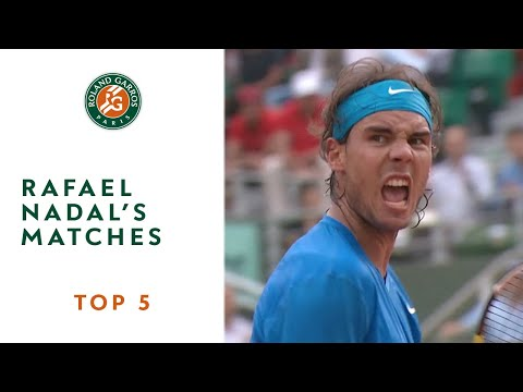 Top 5 moments at Roland Garros: Rafael Nadal's matches